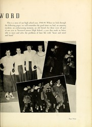 Page 7, 1949 Edition, Newton Conover High School - Cardinal Yearbook (Newton, NC) online yearbook collection