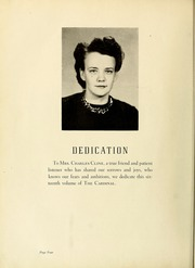 Page 8, 1949 Edition, Newton Conover High School - Cardinal Yearbook (Newton, NC) online yearbook collection