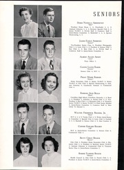 Page 14, 1951 Edition, Newton Conover High School - Cardinal Yearbook (Newton, NC) online yearbook collection