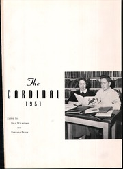 Page 5, 1951 Edition, Newton Conover High School - Cardinal Yearbook (Newton, NC) online yearbook collection