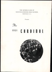 Page 6, 1951 Edition, Newton Conover High School - Cardinal Yearbook (Newton, NC) online yearbook collection