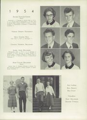 Page 17, 1954 Edition, Newton Conover High School - Cardinal Yearbook (Newton, NC) online yearbook collection