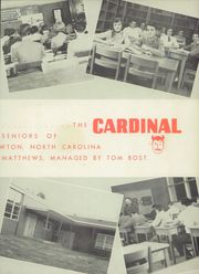 Page 7, 1954 Edition, Newton Conover High School - Cardinal Yearbook (Newton, NC) online yearbook collection