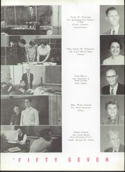 Page 11, 1957 Edition, Newton Conover High School - Cardinal Yearbook (Newton, NC) online yearbook collection
