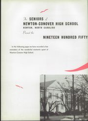 Page 6, 1957 Edition, Newton Conover High School - Cardinal Yearbook (Newton, NC) online yearbook collection