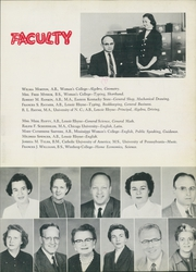 Page 15, 1958 Edition, Newton Conover High School - Cardinal Yearbook (Newton, NC) online yearbook collection
