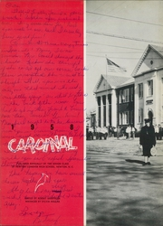 Page 6, 1958 Edition, Newton Conover High School - Cardinal Yearbook (Newton, NC) online yearbook collection