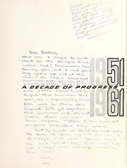 Page 5, 1961 Edition, Myers Park High School - Mustang Yearbook (Charlotte, NC) online yearbook collection