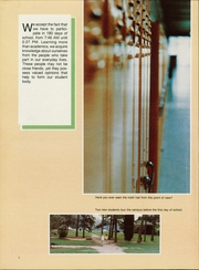 Page 6, 1987 Edition, Myers Park High School - Mustang Yearbook (Charlotte, NC) online yearbook collection
