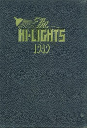 1949 Edition, Pleasant Garden High School - Hi Lights Yearbook (Pleasant Garden, NC)