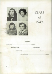 Page 10, 1949 Edition, Pleasant Garden High School - Hi Lights Yearbook (Pleasant Garden, NC) online yearbook collection