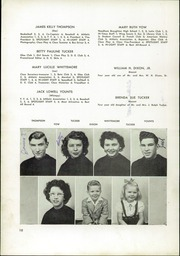 Page 14, 1949 Edition, Pleasant Garden High School - Hi Lights Yearbook (Pleasant Garden, NC) online yearbook collection
