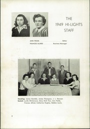 Page 6, 1949 Edition, Pleasant Garden High School - Hi Lights Yearbook (Pleasant Garden, NC) online yearbook collection