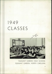 Page 9, 1949 Edition, Pleasant Garden High School - Hi Lights Yearbook (Pleasant Garden, NC) online yearbook collection