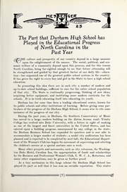 Page 11, 1925 Edition, Durham High School - Messenger Yearbook (Durham, NC) online yearbook collection