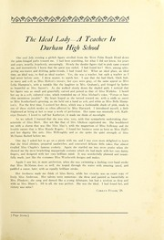 Page 13, 1927 Edition, Durham High School - Messenger Yearbook (Durham, NC) online yearbook collection