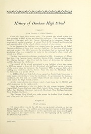 Page 9, 1927 Edition, Durham High School - Messenger Yearbook (Durham, NC) online yearbook collection