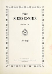 Page 7, 1928 Edition, Durham High School - Messenger Yearbook (Durham, NC) online yearbook collection