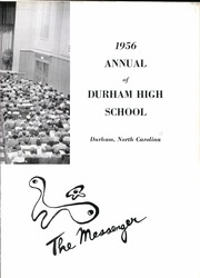Page 7, 1956 Edition, Durham High School - Messenger Yearbook (Durham, NC) online yearbook collection