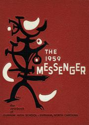 1959 Edition, Durham High School - Messenger Yearbook (Durham, NC)