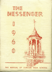 1960 Edition, Durham High School - Messenger Yearbook (Durham, NC)