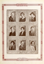 Page 13, 1925 Edition, Cary High School - YRAC Yearbook (Cary, NC) online yearbook collection