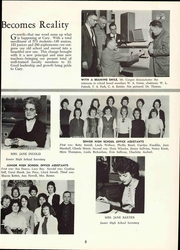 Page 11, 1961 Edition, Cary High School - YRAC Yearbook (Cary, NC) online yearbook collection