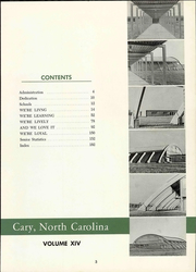 Page 9, 1961 Edition, Cary High School - YRAC Yearbook (Cary, NC) online yearbook collection