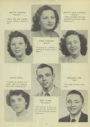 Page 11, 1949 Edition, Mount Pleasant High School - Tiger Roar Yearbook (Mount Pleasant, NC) online yearbook collection