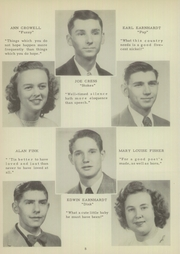 Page 12, 1949 Edition, Mount Pleasant High School - Tiger Roar Yearbook (Mount Pleasant, NC) online yearbook collection