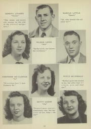 Page 14, 1949 Edition, Mount Pleasant High School - Tiger Roar Yearbook (Mount Pleasant, NC) online yearbook collection