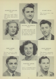 Page 15, 1949 Edition, Mount Pleasant High School - Tiger Roar Yearbook (Mount Pleasant, NC) online yearbook collection