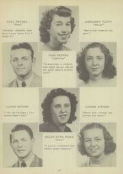 Page 16, 1949 Edition, Mount Pleasant High School - Tiger Roar Yearbook (Mount Pleasant, NC) online yearbook collection