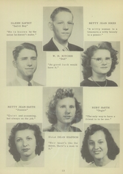 Page 17, 1949 Edition, Mount Pleasant High School - Tiger Roar Yearbook (Mount Pleasant, NC) online yearbook collection