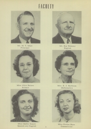 Page 7, 1949 Edition, Mount Pleasant High School - Tiger Roar Yearbook (Mount Pleasant, NC) online yearbook collection