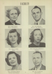 Page 8, 1949 Edition, Mount Pleasant High School - Tiger Roar Yearbook (Mount Pleasant, NC) online yearbook collection