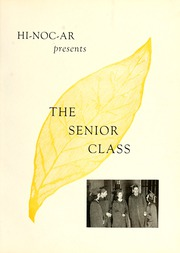 Page 11, 1941 Edition, Rocky Mount High School - Hi Noc Ar Yearbook (Rocky Mount, NC) online yearbook collection