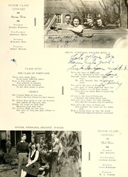 Page 13, 1941 Edition, Rocky Mount High School - Hi Noc Ar Yearbook (Rocky Mount, NC) online yearbook collection
