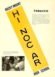 Page 6, 1941 Edition, Rocky Mount High School - Hi Noc Ar Yearbook (Rocky Mount, NC) online yearbook collection