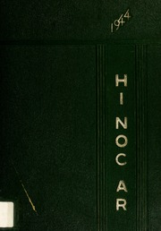 Rocky Mount High School - Hi Noc Ar Yearbook (Rocky Mount, NC) online yearbook collection, 1944 Edition, Page 1