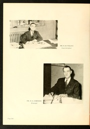 Page 10, 1945 Edition, Rocky Mount High School - Hi Noc Ar Yearbook (Rocky Mount, NC) online yearbook collection