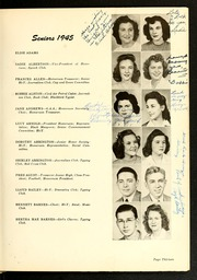 Page 17, 1945 Edition, Rocky Mount High School - Hi Noc Ar Yearbook (Rocky Mount, NC) online yearbook collection