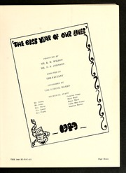 Page 11, 1949 Edition, Rocky Mount High School - Hi Noc Ar Yearbook (Rocky Mount, NC) online yearbook collection