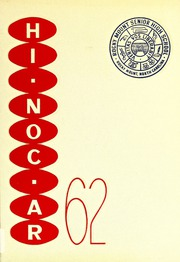 Rocky Mount High School - Hi Noc Ar Yearbook (Rocky Mount, NC) online yearbook collection, 1962 Edition, Page 1