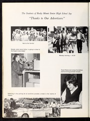 Page 124, 1965 Edition, Rocky Mount High School - Hi Noc Ar Yearbook (Rocky Mount, NC) online yearbook collection