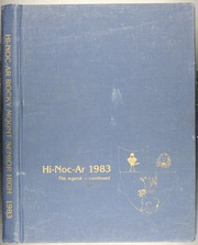 Rocky Mount High School - Hi Noc Ar Yearbook (Rocky Mount, NC) online yearbook collection, 1983 Edition, Page 1