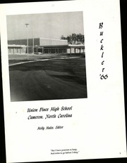 Page 5, 1966 Edition, Union Pines High School - Buckler Yearbook (Cameron, NC) online yearbook collection