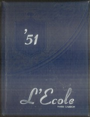 1951 Edition, Garner High School - Lecole Yearbook (Garner, NC)