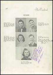 Page 11, 1946 Edition, Jacksonville High School - Cardinal Yearbook (Jacksonville, NC) online yearbook collection