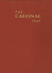 Jacksonville High School - Cardinal Yearbook (Jacksonville, NC) online yearbook collection, 1947 Edition, Page 1